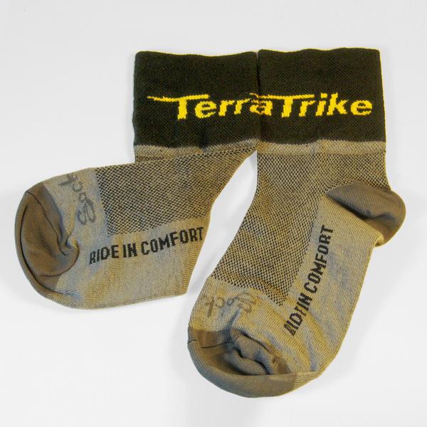 TerraTrike TerraTrike Socks - Grey