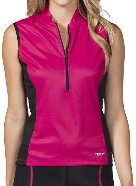 Terry Breakaway Mesh Jersey Color: Beetroot