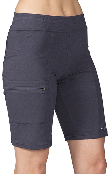 Terry Cruiser Short Padded Color: Ebony