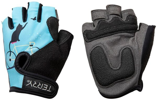 Terry T-Gloves LTD Color: Cats/Blue