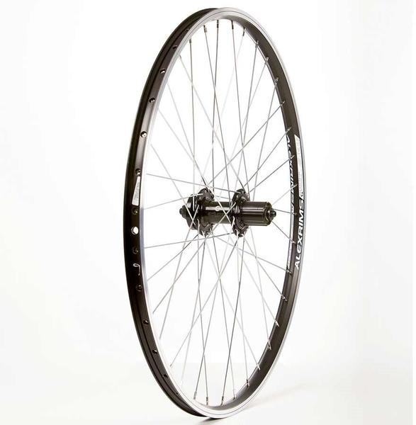 The Wheel Shop Alex Ace17 Black/Formula DC-22 26-inch Rear