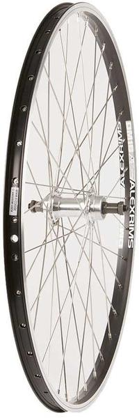 The Wheel Shop Alex DM18 Black/Formula FM-31-QR 26-inch Front