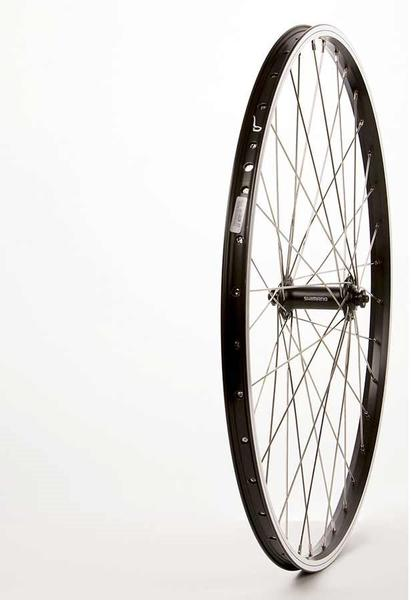 The Wheel Shop Alex DM18 Black/Shimano Acera HB-T3000 26-inch Front