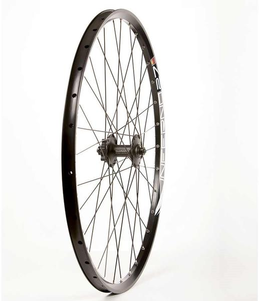 The Wheel Shop Sun Inferno 27 Black/ Shimano Deore HB-M525 27.5-inch Front