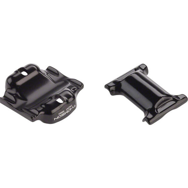 Thomson Seatpost Clamp Set Color | Size: Black | 7 x 10mm Oversize Rail