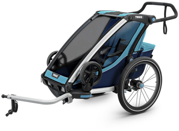 Thule Chariot Cross 1 Color: Thule Blue/Poseidon