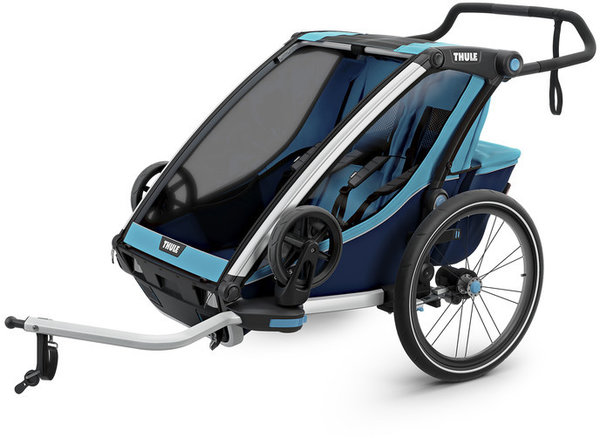 Thule Chariot Cross 2 Color: Thule Blue/Poseidon