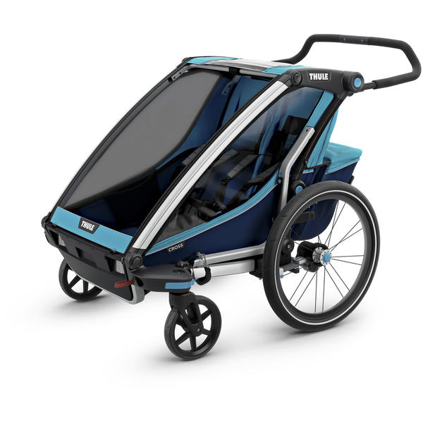 Thule Chariot Cross 2 + Cycle/Stroll Color: Blue