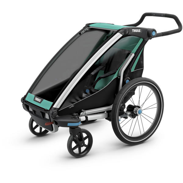 Thule Chariot Lite 1 + Cycle/Stroll Color: Bluegrass