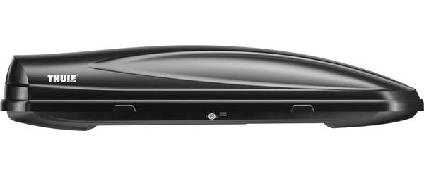 Thule Force XL Rooftop Box Color: Matte Black AeroSkin