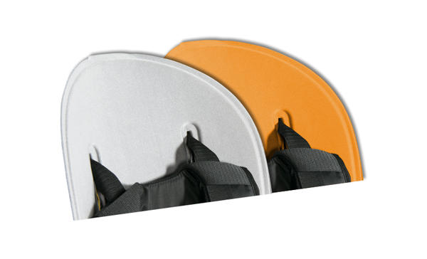 Thule RideAlong Padding Color: Light Gray/Orange