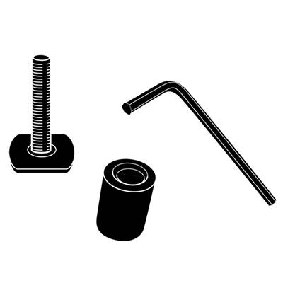 Thule Adapter Kit XADAPT12 For T-Track