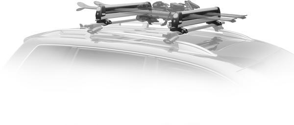 Thule Universal Pull Top Horizontal Ski/Snowboard Carrier (6 pair)