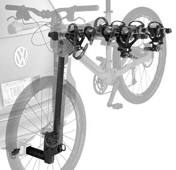Thule Ridgeline 4-Bike Hitch Rack