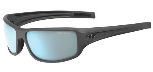 Tifosi Bronx Color | Lens: Matte Gunmetal | Smoke Bright Blue