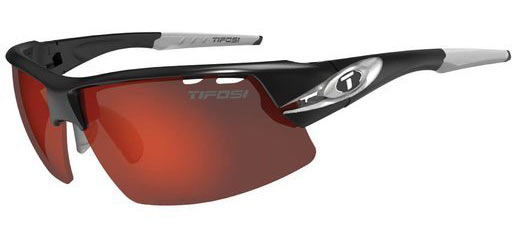 Tifosi Crit Color | Lens: Race Silver | Clarion Red|AC Red|Clear