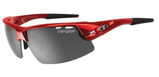 Tifosi Crit Color | Lens: Metallic Red | Smoke|AC Red|Clear