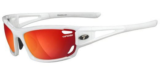 Tifosi Dolomite 2.0 Clarion Color | Lens: Pearl White | Clarion Red|AC Red|Clear