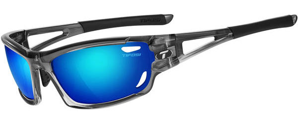 Tifosi Dolomite 2.0 Clarion Polarized Color | Lens: Crystal Smoke | Clarion Blue Polarized