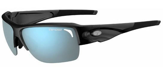 Tifosi Elder SL Color | Lens: Gloss Black | Smoke Bright Blue