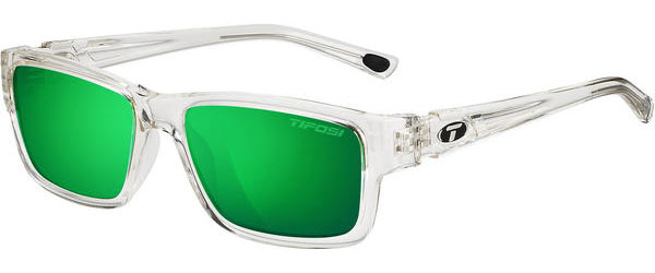 Tifosi Hagen Clarion Polarized Color | Lens: Crystal Clear | Clarion Green Polarized
