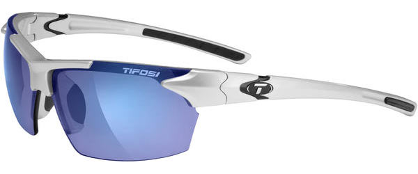 Tifosi Jet Color | Lens: Metallic Silver | Smoke Blue