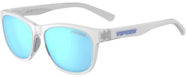 Tifosi Swank Color | Lens: Satin Clear | Clarion Blue Polarized