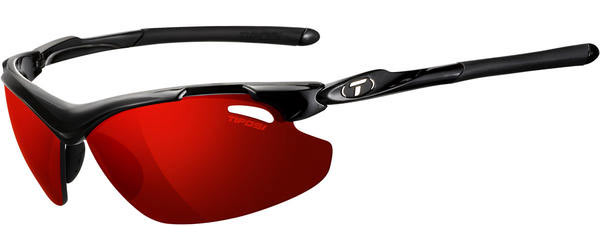 Tifosi Tyrant 2.0 Clarion Polarized Color | Lens: Gloss Black | Clarion Red Polarized