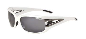 Tifosi Lust - Women's Color: Pearl White w/Smoke Glare Guard lenses