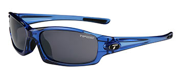 Tifosi Scout Color: Crystal Blue w/Smoke Glare Guard lenses