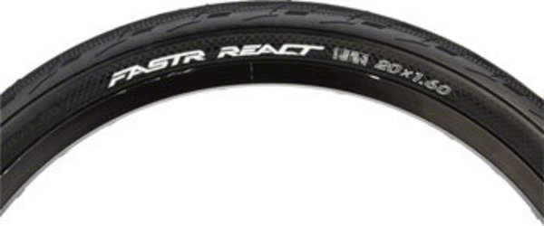 Tioga FASTR REACT 20-inch Color: Black
