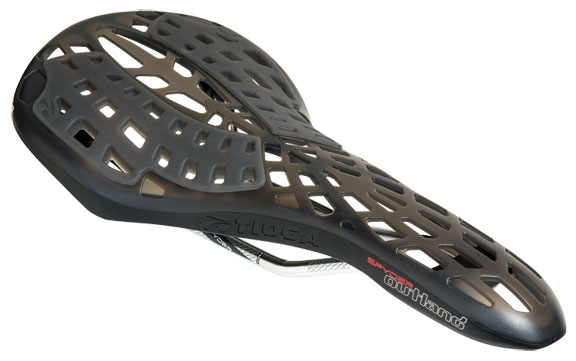 Tioga Spyder Outland Saddle Color: Black