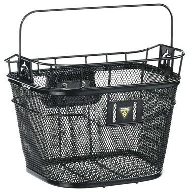 Topeak Basket Front (w/ E-Bike Fixer 3e) Color: Black