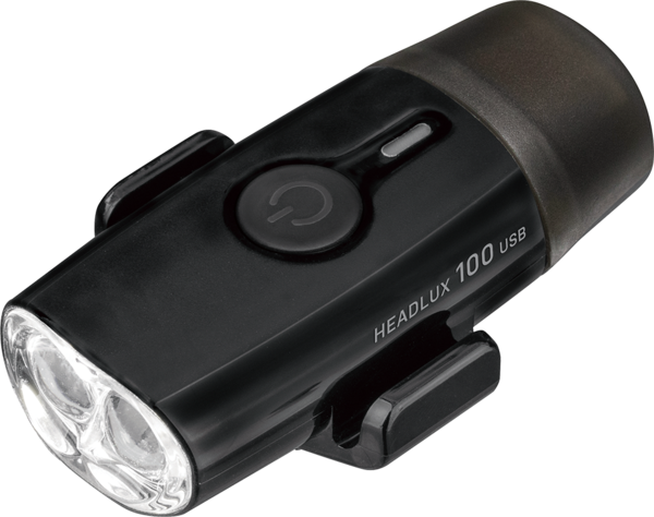 Topeak HeadLux 100 USB Color: Black