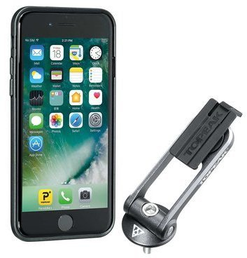 Topeak RideCase w/Mount (iPhone 6 and 7) Color: Black