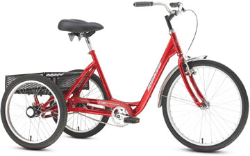 Torker Tristar 2.1 (1-Speed) Color: Red