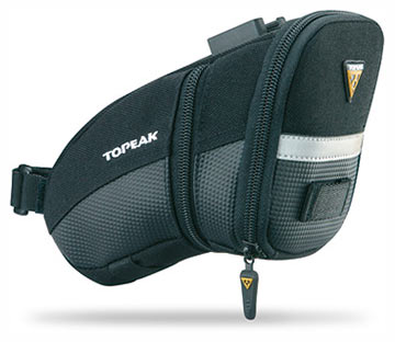 Topeak Aero Wedge Pack (Large w/Fixer)