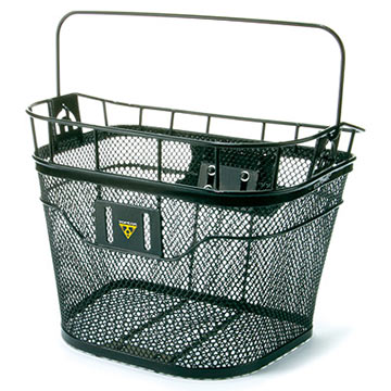 Topeak Front Basket Color: Black