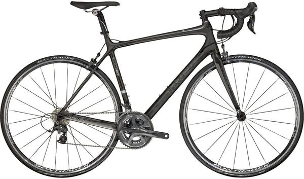 Trek Madone 5.2 C Color: Gloss Carbon Smoke/Matte Carbon Smoke