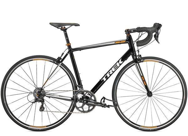 Trek 1.2 C Color: Trek Black/Fastback Orange