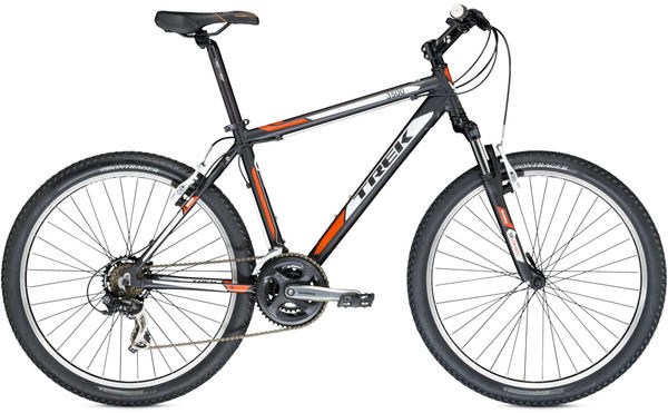 Trek 3500 Color: Matte Trek Black/Catalyst Orange