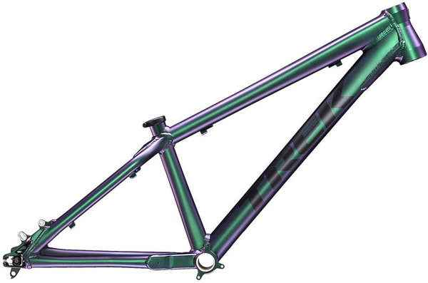 Trek Ticket DJ Frameset Color: Matte Emerald Iris