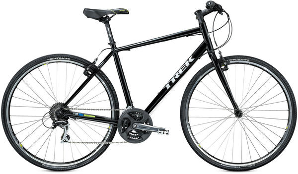 Trek 7.2 FX Color: Starry Night Black/Volt Green