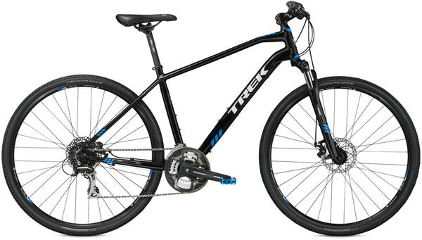 Trek 8.3 DS Color: Trek Black/Cyan