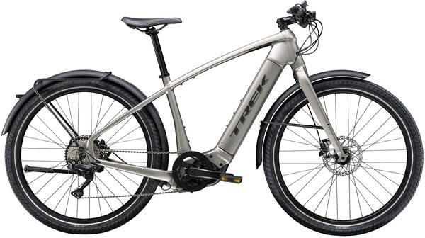 Trek Allant+ 8 Color: Matte Metallic Gunmetal