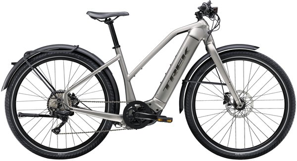Trek Allant+ 8 Stagger Color: Matte Metallic Gunmetal