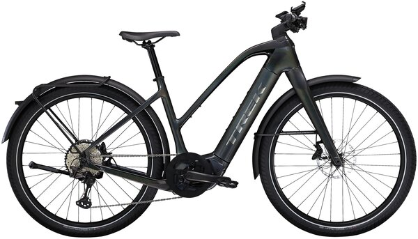 Trek Allant+ 9.9S Stagger Color: Matte Trek Black/Gloss Red