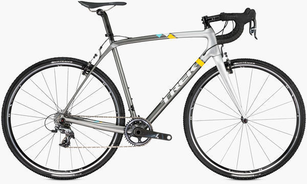 Trek Boone 7 Color: Charcoal/Bright Silver/Trek White
