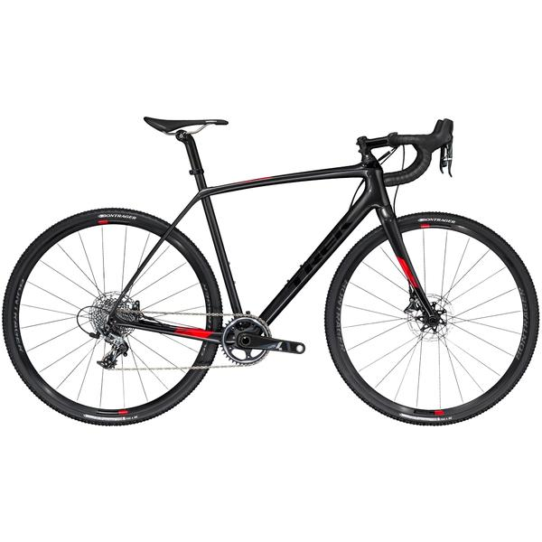 Trek Boone 7 Disc Color: Dnister Black/Viper Red