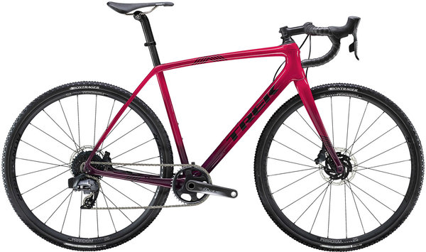 Trek Boone 7 Disc Color: Magenta/Mulberry Fade